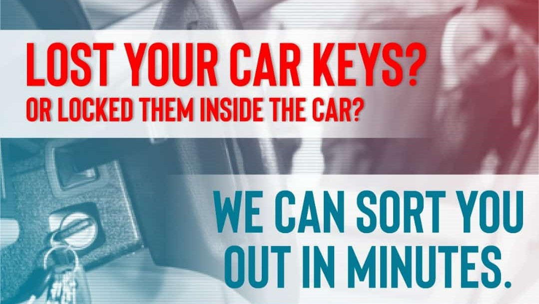 we can sort you in minutes for all keys lost
