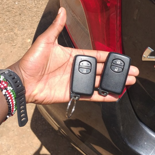 Damaged car key repair in Nairobi