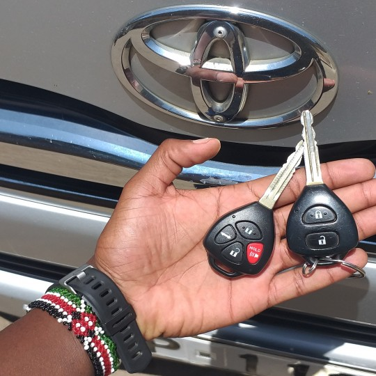 Toyota key duplication Nairobi