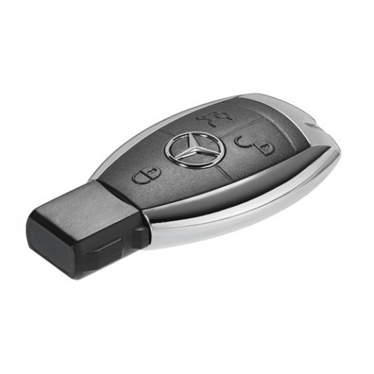 Mercedes Benz chrome sided key duplication & replacement