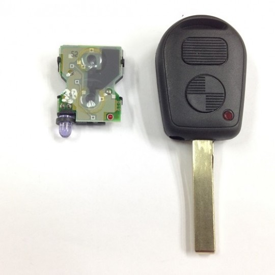 Bmw key shell replacement and cutting