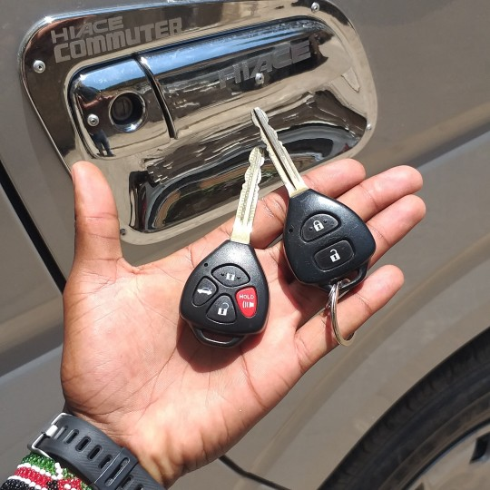 Car keys cutting in Nairobi Kenya
