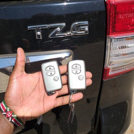Toyota Landcruiser Prado key duplication and replacement in Nairobi Kenya