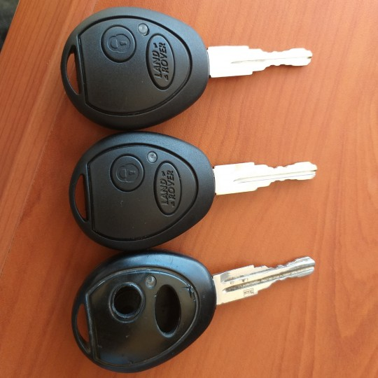 Landrover damaged key shell repair