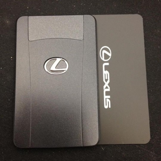 Lexus smart card/proximity duplication