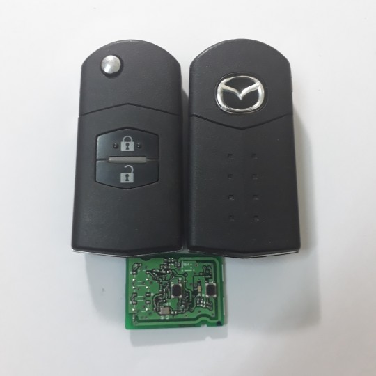 Mazda flip ignition keys duplication & replacement