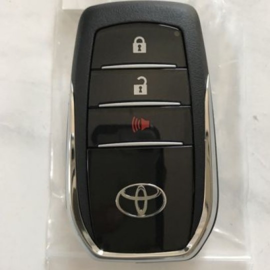 Toyota Hilux 2017 smart key duplication & replacement